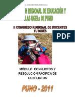 CONFLICTOS Y RESOLUCION PACIFICA DE CONFLICTOS.doc