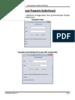 Modul 1 Java Desktop