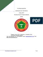 Standar Praktek Keperawatan PPNI