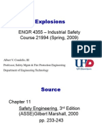 Dust Explosions - Lecture
