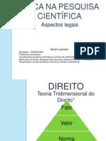 ÉTICA NA PESQUISA CIENTÍFICA.pptx