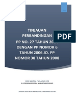 Perbandingan PP 27 Tahun 2014 dengan PP sebelumnya