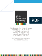 Whats in the New OGP National Action Plan?