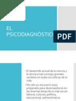 CARACTERISTICAS DEL  PSICODIAGNÓSTICO.ppt