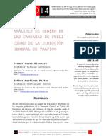 Icono14. Nº13. ANÁLISIS DE GÉNERO DE LAS CAMPAÑAS DE PUBLI-CIDAD DE LA DIRECCIÓN GENERAL DE TRÁFICO