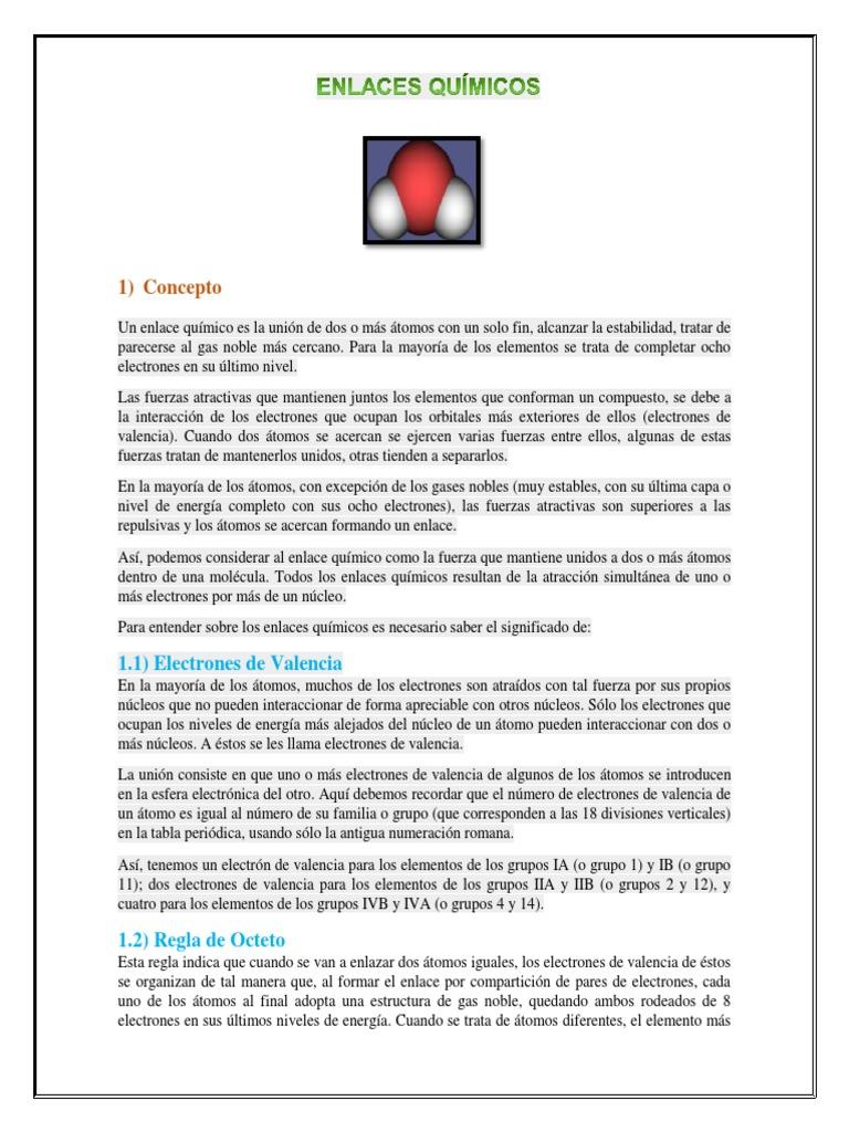 Enlaces quimicos de bioquimicacx urtaz Choice Image