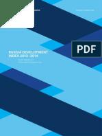 Russia Development Index 2013-2014