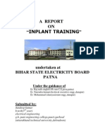 A Training Report
