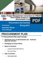 Procurement & Contract Management - Mr S Ghosh