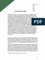1_Communication Theory as a Field-Craig