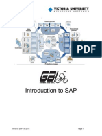 Introduction to SAP 2014