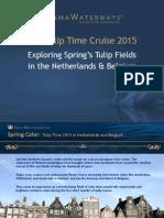 Exploring Spring's Tulip Fields in the Netherlands & Belgium