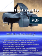 Seminar on virtual reality