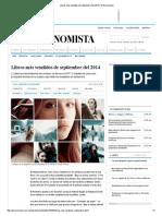 Libros más vendidos de septiembre del 2014 en México.pdf