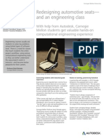 AUTODESK - Redesigning Automotive Seats—and an Engineering Class