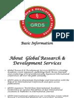GRDS Basic Info