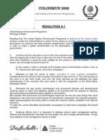 Resulution UNEP