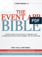 The Event App Bible Mobile Apps for Events Free eBook