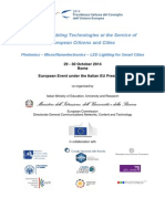 ICT Key Enabling Technologies at the Service of European Citizens and Cities
