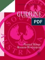 Planned Human Resource Development