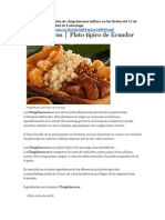 De que manera la venta de chugchucaras influye en las fiestas del 11 de noviembre en la ciudad de Latacunga http.docx