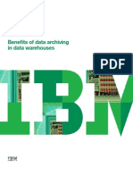 Benefits of Data Archiving in Data Warehouses