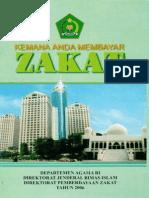 BUKU; Kemana Anda Membayar Zakat-2006