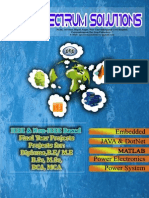 IEEE 2014 PROJECT LIST BY SPECTRUM SOLUTIONS PONDICHERRY