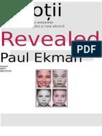 200936229 Paul Eckman Emotii Date Pe Fata Ro PDF