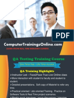 QA Testing Online Training and Placement in USA