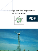 Wind Energy and the Imporatance of Folkecenter
