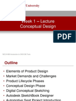 Week 1 - Conceptual Design - Lecture Presentation