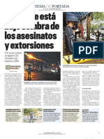 Oriente-Asesinatos y Extorsion
