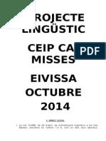 Projecte Lingüístic Can Misses Octubre 2014.doc