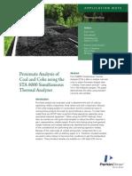 Proximate Analysis Coal Coke