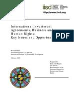 International Investment Agreements - IIA