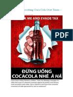 Vietnam Boycotting Coca