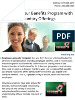 Extending Your Benefits Program with Voluntary Offerings