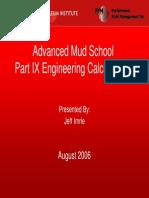 Part IX Engineering Calculations
