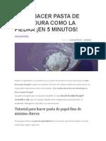 CÓMO HACER PASTA DE PAPEL DURA COMO LA PIEDRA.docx