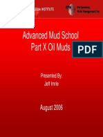 Part X Oil Muds