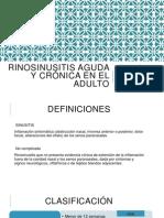 Diagnóstico Clínico de Rinosinositus Crónica.pptx