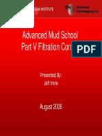 Part v Filtration Control