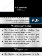 machine gun - wwi1