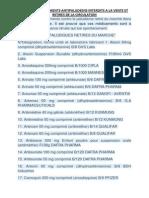 La liste des médicaments contre le paludisme retiré du marché dans l.docx