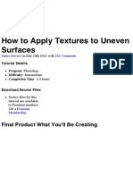 How to Apply Textures to Uneven Surfaces _ Psdtuts+