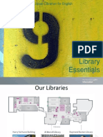 9 Library Essentials
