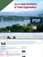 Trade Facilitation and WTO