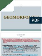 Kuliah 1 Pengertian Geomorfologi Dan Kegunaannya