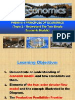 Topic 2 - Understand the Two Simple Economic Models